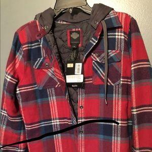 Super soft Harley Davidson flannel jacket